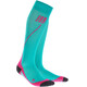 cep Run Socks 2.0 Women lagoon/pink